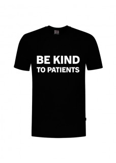 T-Shirt Be Kind To Patients Schwarz