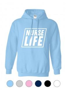 Hoodie Nurse Life Square