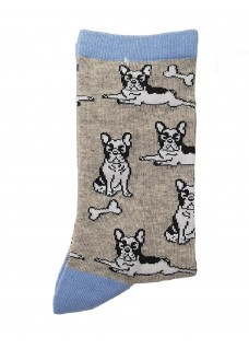 Happy Damensocken Bulldog