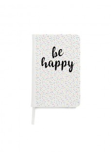 Notizbuch A5 Be Happy