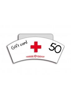 Geschenkgutschein CHF 50 Nurse O'Clock