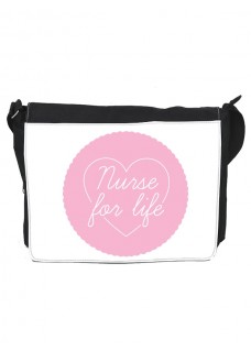 Schultertasche Gross Nurse For Life