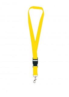 Sicherheits-Schlüsselband Gelb