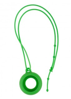 Silikon Schlüsselband Grün