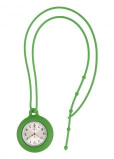 Silikon Schlüsselband Uhr Grün