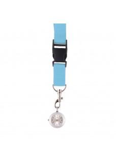 Schlüsselband Uhr Hellblau