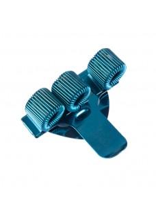 Stift-Halter Dreifach Blau
