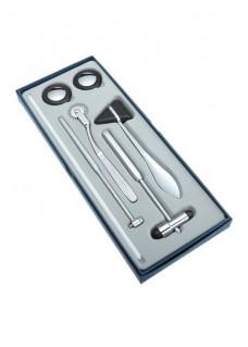 Medizinischer Reflexhammer Kit Schwarz