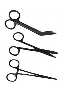 Linkshänder - Scheren-Set Stealth Black