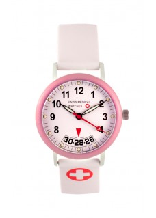 Swiss Medical Armbanduhr Damen Rosa