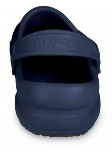 AUSLAUFMODELL: Schuhgröße 36/37 Crocs Bistro Navy