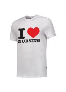 T-Shirt I love Nursing Weiß