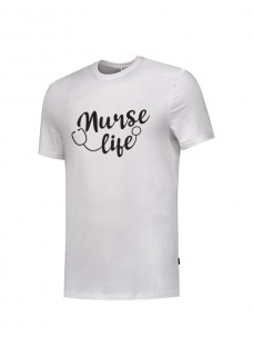 T-Shirt Nurse Life Weiß