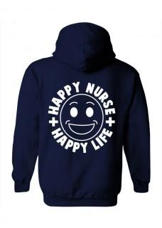Hoodie Happy Nurse Life