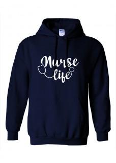 Hoodie Nurse Life