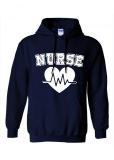 Hoodie Nurse EKG