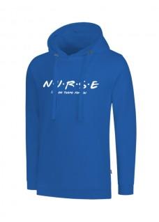 Hoodie Nurse For You Blau