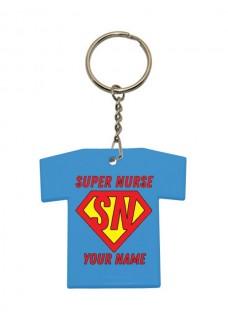 Schlüsselanhänger T-Shirt Super Nurse