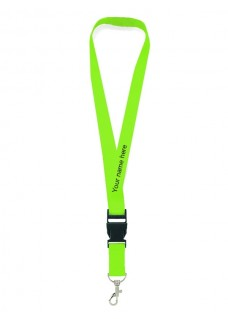 Sicherheits-Schlüsselband Lime Grün