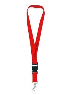 Sicherheits-Schlüsselband Rot