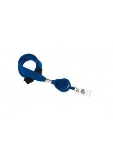 Sicherheits-Schlüsselband mit Ausweis Jojo Blau