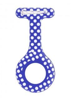 Silikongehäuse Polka Dots Blau