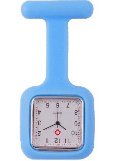 Silikon Viereck Schwesternuhr Blau
