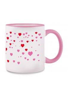 Tasse Stick Heart Rosa