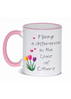 Tasse Difference Rosa