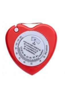 BMI Maßband Herz