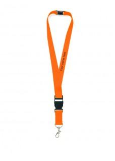 Sicherheits-Schlüsselband Orange