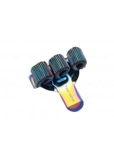 Stift-Halter Dreifach Metal Rainbow