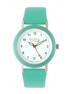 Swiss Medical Armbanduhr Türkis