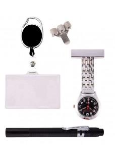 Set Persönliche Ausrüstung Silber Schwarz