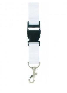 Sicherheits-Schlüsselband Weiß