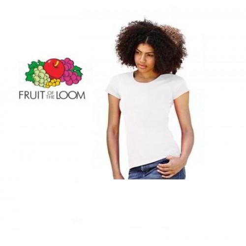 Damen T-Shirt Weiss
