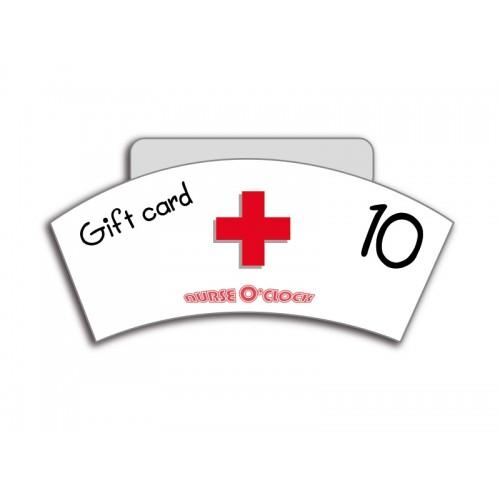 Geschenkgutschein CHF 10 Nurse O'Clock