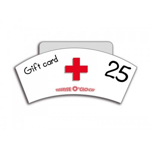 Geschenkgutschein CHF 25 Nurse O'Clock