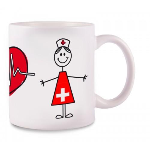 Tasse Stick Nurse Schweiz