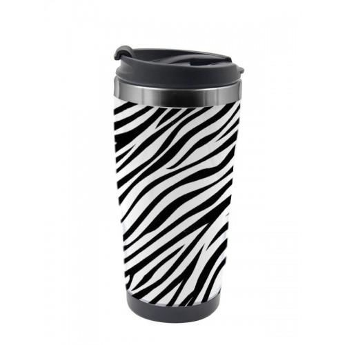 Thermobecher Zebra