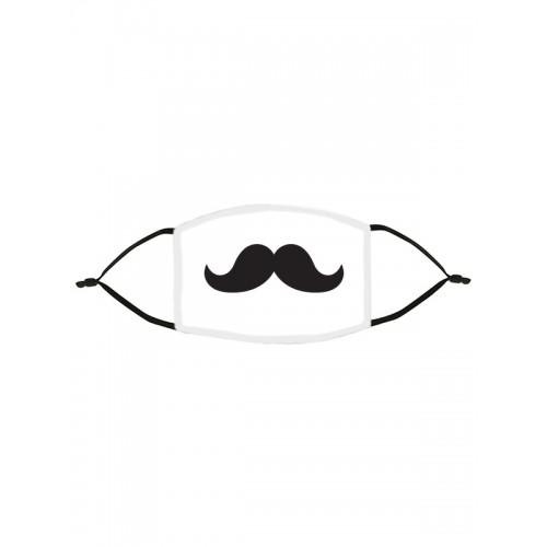 Alltagmaske Schnurrbart