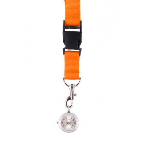 Schlüsselband Uhr Orange