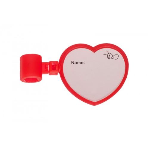Stethoskop Namensschild Herz