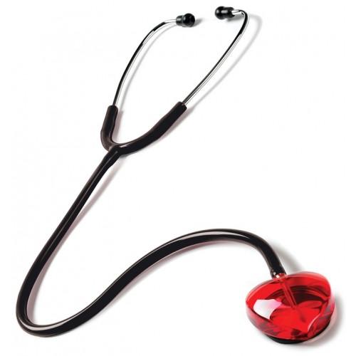 Stethoskop Clear Sound - Herz Schwarz