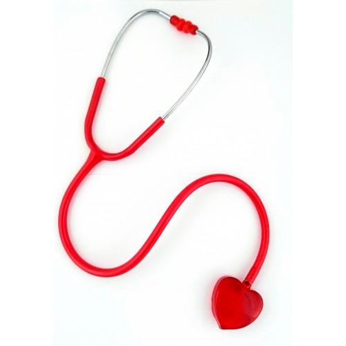 Stethoskop Clear Sound - Herz Rot