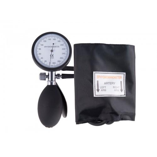 Blutdruckmessgerät Einhand-Bedienung mit Tragetasche Schwarz