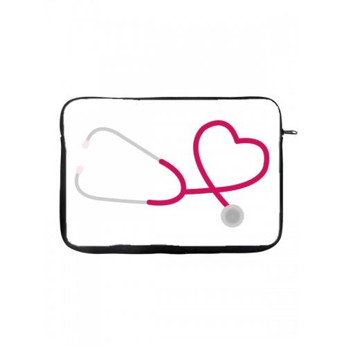 "Tablet-Tasche 10"" Stethoskop"